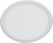 Horeca Select Okrągłe pokrywki do pojemników z PP o pojemności 125 200 250 i 500 ml 100 sztuk