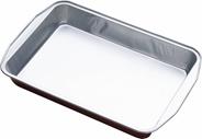 Horeca Select Brytfanka aluminiowa 3150 ml 5 sztuk