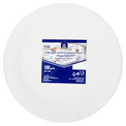 Horeca Select Talerze papierowe okrągłe Ø 23 cm 100 sztuk