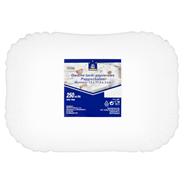 Horeca Select Owalne tacki papierowe 13 x 17,5 x 3 cm 250 sztuk