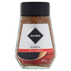 Rioba Kawa rozpuszczalna liofilizowana 100% Arabica 100 g
