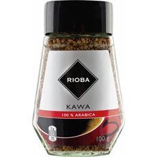 Rioba 100% Arabica Kawa rozpuszczalna liofilizowana 100 g
