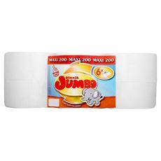 Słonik Jumbo Papier toaletowy Jumbo 200 Maxi 6 rolek