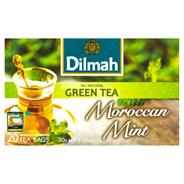 Dilmah Zielona herbata z liśćmi mięty 30 g (20 torebek)