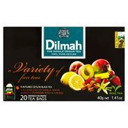 Dilmah Zestaw czarnych aromatyzowanych herbat 40 g (20 kopert)