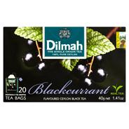 Dilmah Cejlońska czarna herbata z aromatem czarnej porzeczki 40 g (20 torebek)