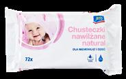 Aro Chusteczki nawilżane dla niemowląt i dzieci natural 72 sztuki