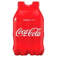 Coca-Cola Napój gazowany 4 x 1 l