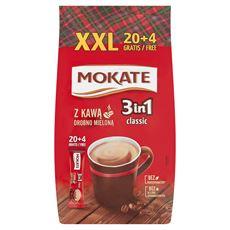 Mokate Caffetteria 3in1 Classic Napój kawowy w proszku 432 g (24 x 18 g)