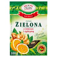 Malwa Herbata zielona z imbirem i cytryną 100 g