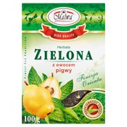 Malwa Herbata zielona z owocem pigwy 100 g