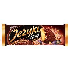 Jeżyki Dark Cocoa Herbatniki w czekoladzie deserowej 140 g