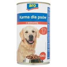 ARO Karma dla psów z wołowiną 1240 g
