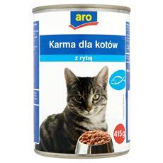 ARO Karma dla kotów z rybą 415 g