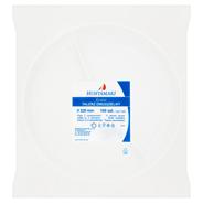 Huhtamaki Talerz dwudzielony plastikowy biały 21,9 cm 100 sztuk