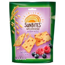Sunbites Wielozbożowe herbatniki z owocami leśnymi 100 g