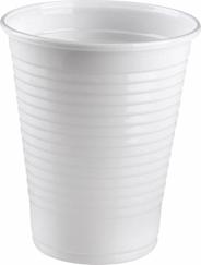 Aro Kubki do zimnych napojów białe 200 ml 100 sztuk