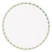 Huhtamaki Talerz papierowy obiadowy Chinet Mosaic 24 cm 50 sztuk
