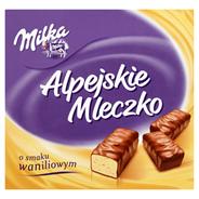 Milka Alpejskie Mleczko Pianka o smaku waniliowym 330 g