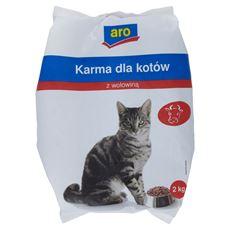 ARO Karma dla kotów z wołowiną 2 kg