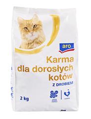 ARO Karma dla kotów z drobiem 2 kg