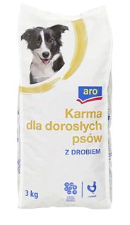 ARO Karma dla psów z drobiem 3 kg