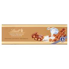 Lindt Gold Szwajcarska mleczna czekolada z orzechami laskowymi 300 g