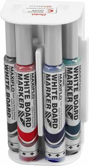 Pentel Maxiflo Zestaw markerów z magnetyczną gąbką