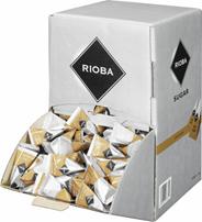 Rioba Cukier trzcinowy brązowy nierafinowany typ demerara 2 kg (500 sztuk)