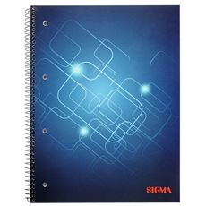 Sigma Zeszyt na spirali w kratkę 80 kartek A4