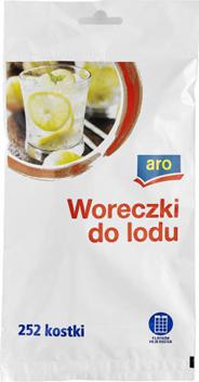 Aro Woreczki do lodu 35 cm x 19 cm 5 x 9 sztuk