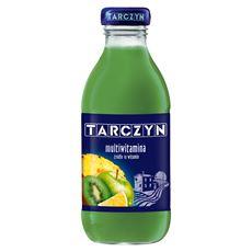 Tarczyn Multiwitamina 10 witamin Napój wieloowocowy 300 ml 15 sztuk