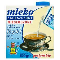 SM Gostyń Mleko gostyńskie zagęszczone niesłodzone light 4% 500 g 6 sztuk