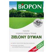 Biopon Zielony Dywan Nawóz do trawnika zagęszczający trawę 1 kg