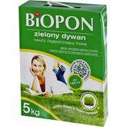 Biopon Zielony Dywan Nawóz do trawnika zagęszczający trawę 5 kg