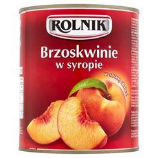 Rolnik Brzoskwinie w syropie 820 g 3 sztuki