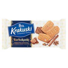 Krakuski Barbakanki Herbatniki korzenne w czekoladzie mlecznej 150 g