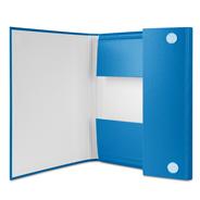 Donau Eco Teczka skrzydłowa niebieska 3 cm A4