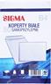 Sigma Koperty samoprzylepne białe B4 50 sztuk