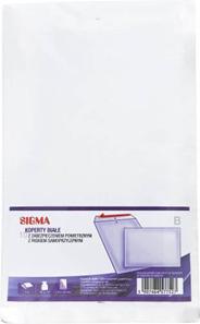 Sigma Koperty z zabezpieczeniem powietrznym białe B 10 sztuk