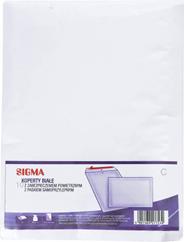 Sigma Koperty z zabezpieczeniem powietrznym białe C 10 sztuk