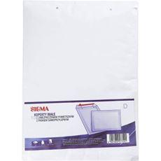 Sigma Koperty z zabezpieczeniem powietrznym białe D 10 sztuk