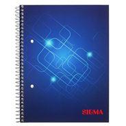 Sigma Zeszyt na spirali w kratkę 80 kartek A5