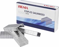 Sigma Zszywki 24/6 10 x 1000 sztuk