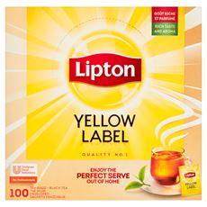 Lipton Yellow Label Herbata czarna 180 g (100 kopert)