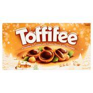 Toffifee Orzech laskowy w karmelu kremie orzechowym i czekoladzie 375 g (3 x 125 g)