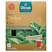 Dilmah Ceylon Gold Klasyczna czarna herbata 200 g (100 torebek)