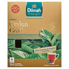 Dilmah Ceylon Gold Klasyczna czarna herbata 200 g (100 kopert)