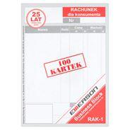 Formularze samkopiujące A6 RAK-1 100 sztuk