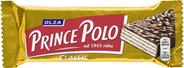 Olza Prince Polo Classic Kruchy wafelek z kremem kakaowym oblany czekoladą 35 g 32 sztuki